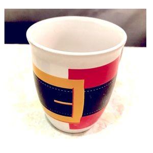 Ceramic Santa Coffee Cup